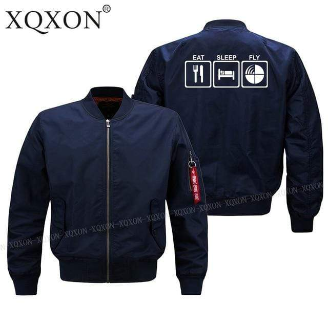 PILOTSX Jacket Dark blue thin / S EAT SLEEP FLY Jacket -US Size