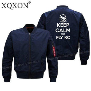 PilotsX Jacket Dark blue thin / S Keep calm and Fly RC Jacket -US Size