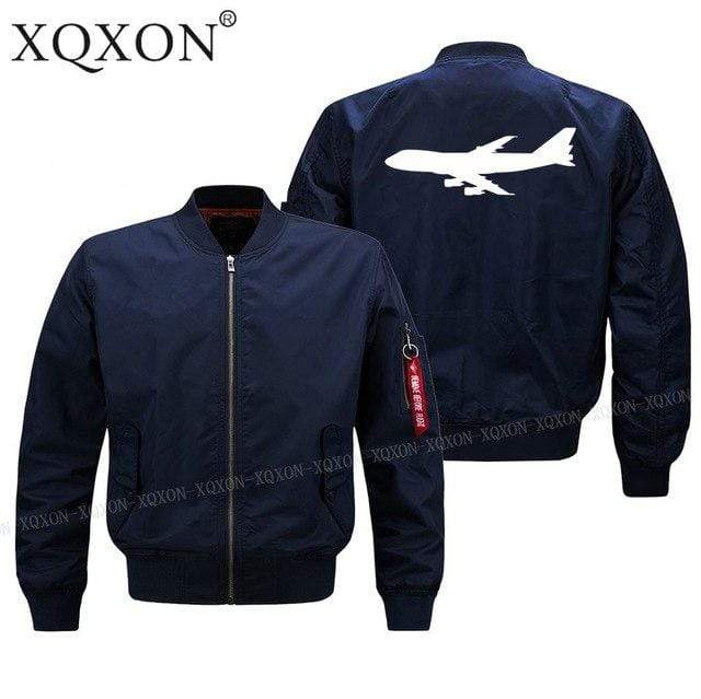 PILOTSX Jacket Dark blue thin / S Large aircraft Jacket -US Size