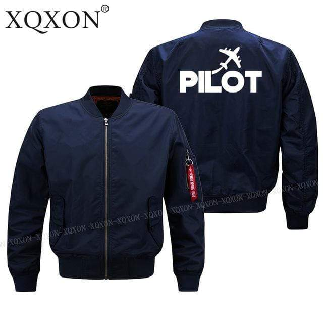 PILOTSX Jacket Dark blue thin / S Pilot plane Jacket -US Size