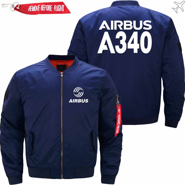 PilotsX Jacket Army green thick / XS Airbus A340 Jacket -US Size