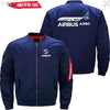 PilotsX Jacket Dark blue thin / XS Airbus A380 Jacket -US Size