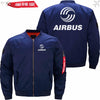 PilotsX Jacket Dark blue thin / XS Airbus Logo Jacket -US Size