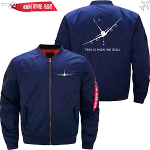 PilotsX Jacket Dark blue thin / XS THIS IS HOW WE ROLL Jacket -US Size