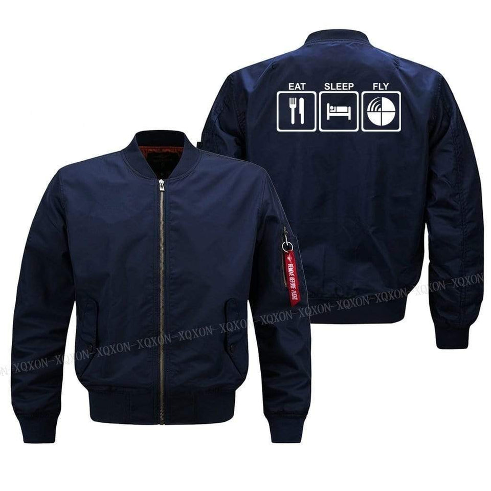 PILOTSX Jacket EAT SLEEP FLY Jacket -US Size
