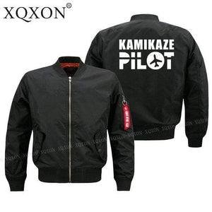 PilotsX Jacket S / Black Thin kamikaze pilot Jacket -US Size