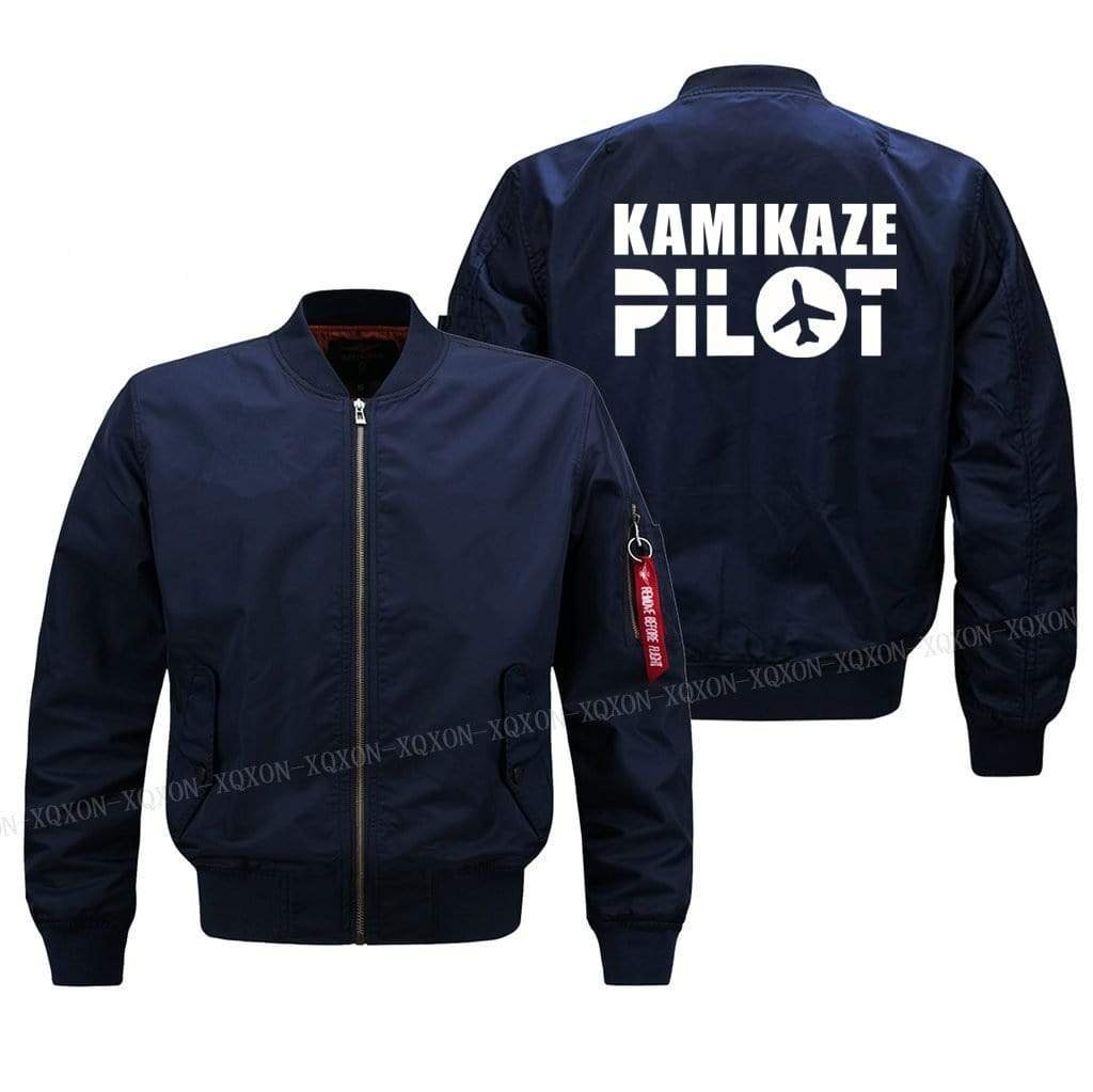 PilotsX Jacket S / Blue Thin kamikaze pilot Jacket -US Size