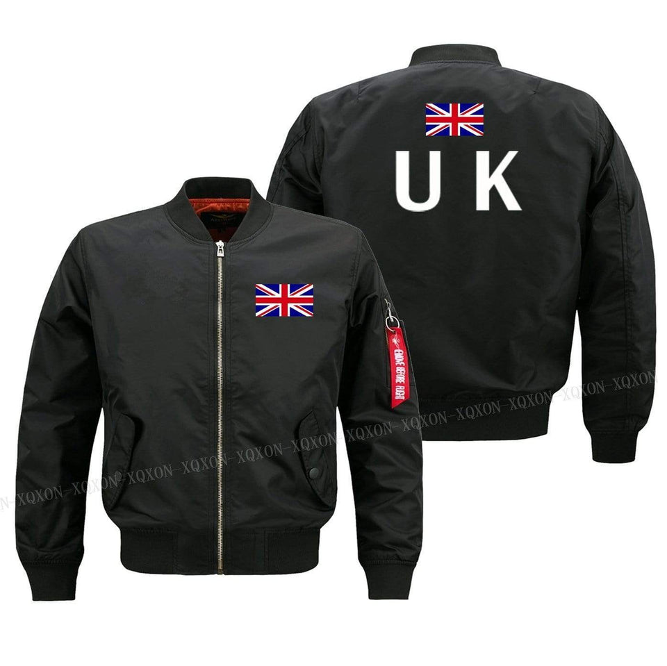 PILOTSX Jacket United Kingdom flag Jacket -US Size