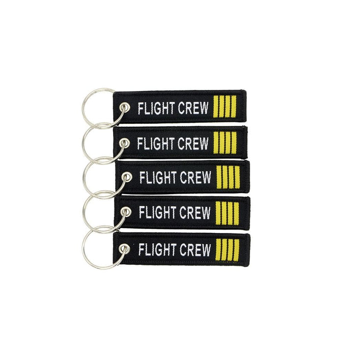 PILOTSX Kiss Me Before Flight Keychain 5 PCS/LOT 7.7*2CM Flight Crew captain Tag Key Chain