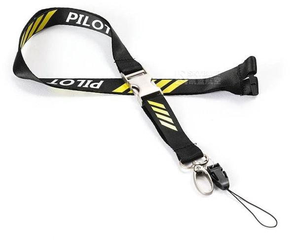 PILOTSX Lanyard for Pilot License ID Holder