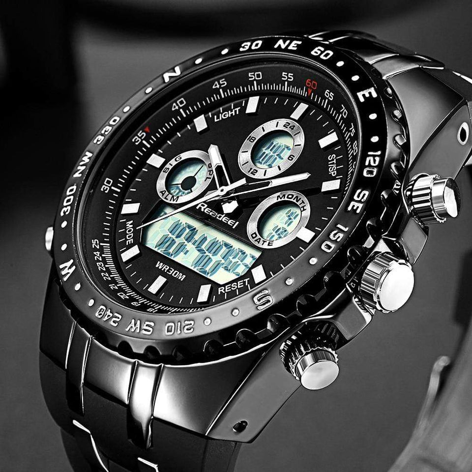 PILOTSX Men Military Waterproof Watches