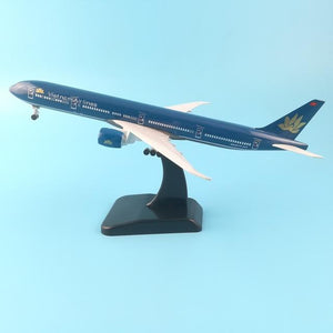 PILOTSX Model Aircraft 20CM 254 EGYPTAIR Airlines The 777