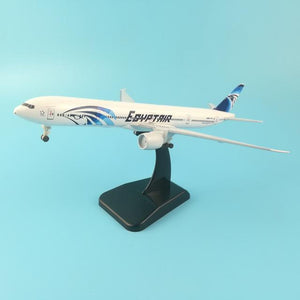 PILOTSX Model Aircraft 20CM 255 EGYPTAIR Airlines The 777