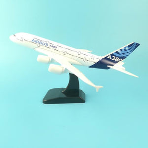 PILOTSX Model Aircraft 20CM AIR BUS 244 Model Aircraft