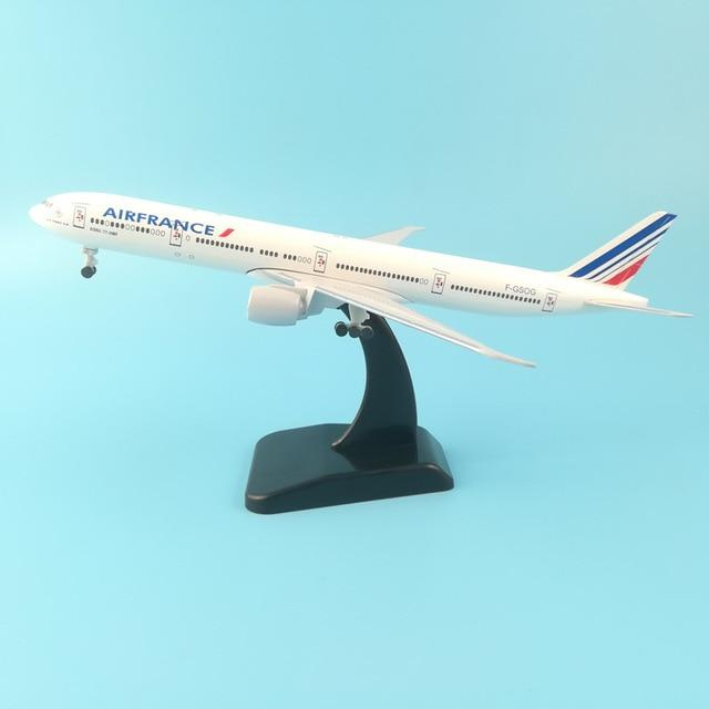 PILOTSX Model Aircraft 20CM AIR FRANCE 252 Model Aircraft
