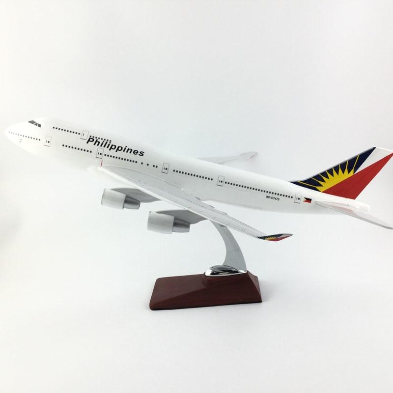PILOTSX Model Aircraft 45-47CM Philippine Airlines The 747