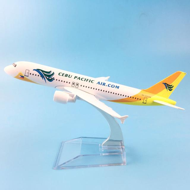 PILOTSX Model Aircraft Air Cebu Pacific Airbus A320
