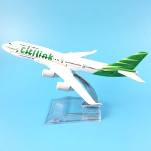 PILOTSX Model Aircraft Air Indonesia Citilink Airways The 747 400
