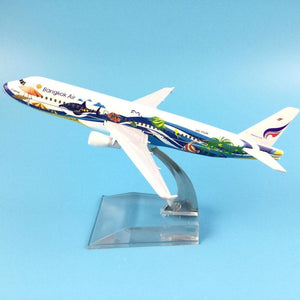 PILOTSX Model Aircraft Bangkok Air Airbus A320