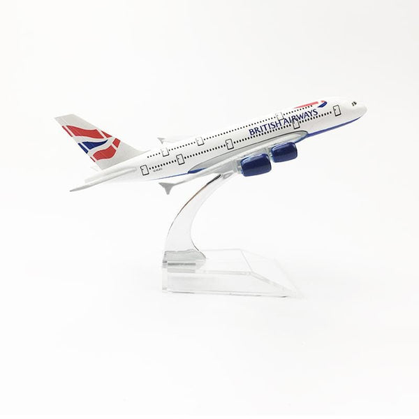PILOTSX Model Aircraft British Airways Airbus A380