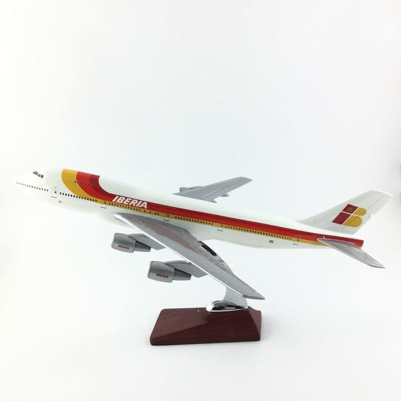 PILOTSX Model Aircraft Iberia Airlines The 747 (Big Aircraft)