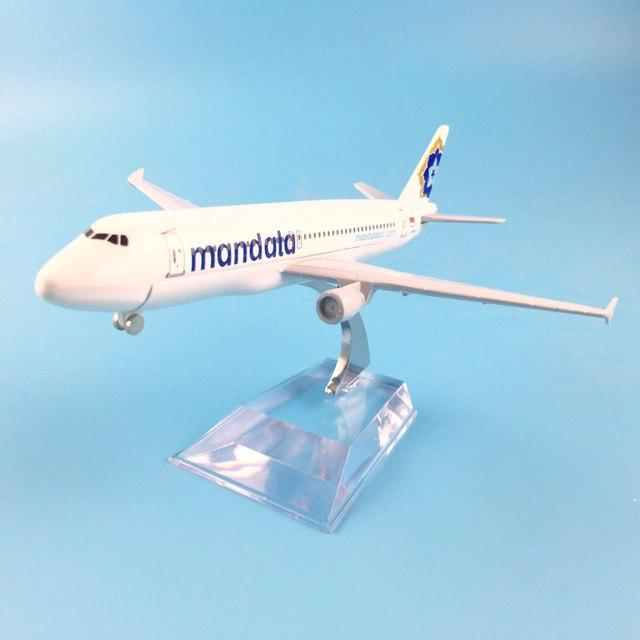 PILOTSX Model Aircraft Indonesia Mandala Airlines Airbus A320