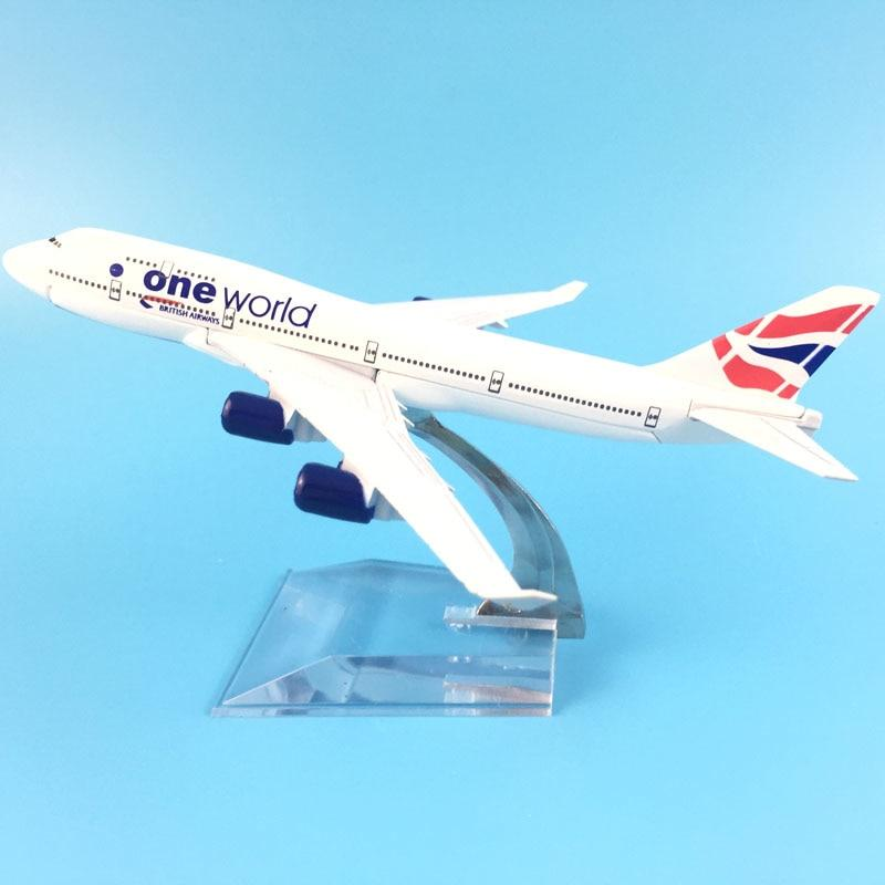 PILOTSX Model Aircraft One World Airbus A320