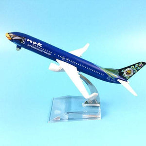 PILOTSX Model Aircraft Photo Color Nok Air The 737