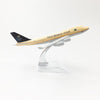 PILOTSX Model Aircraft Saudi Arabian Airlines The 747