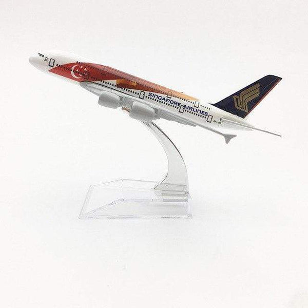 PILOTSX Model Aircraft Singapore Airlines Airbus A380