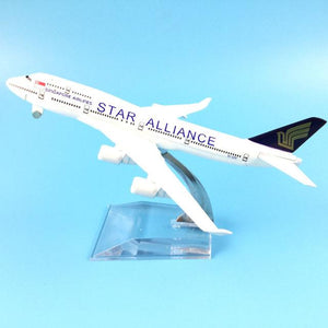 PILOTSX Model Aircraft Star Alliance Airlines The 747