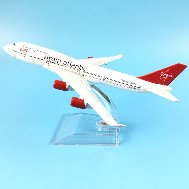PILOTSX Model Aircraft Virgin Atlantic The 747