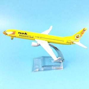 PILOTSX Model Aircraft white Nok Air The 737