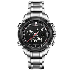 PILOTSX Other Men Military Waterproof LED Sport Watches