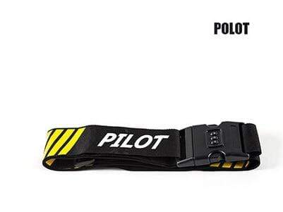 PILOTSX Pilot 1PCS Personality Packing Tape with Password Buckle Luggage Strap