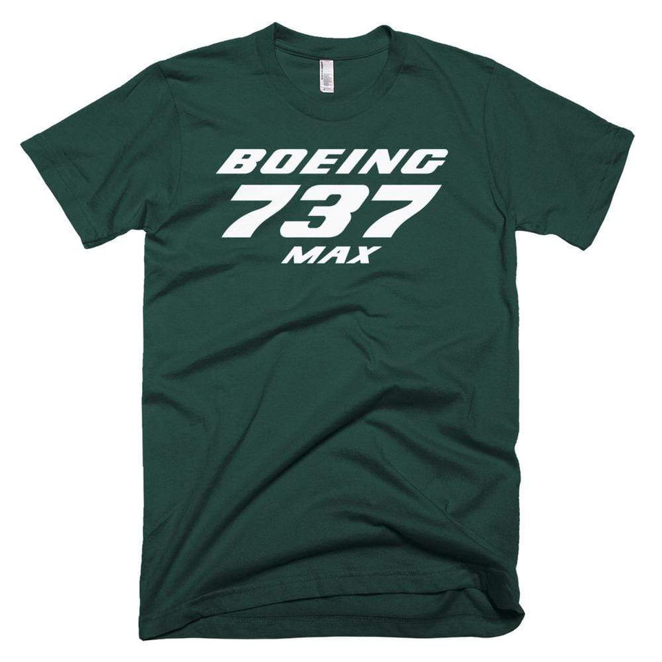 PILOTSX T-shirt Forest / XS Boeing 737 MAX T-Shirts