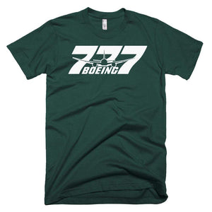 PILOTSX T-shirt Forest / XS Boeing 777 T-Shirts
