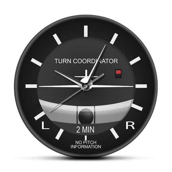 PILOTSX Wall Clock Aviation Classic Silent Non Ticking Wall Clock