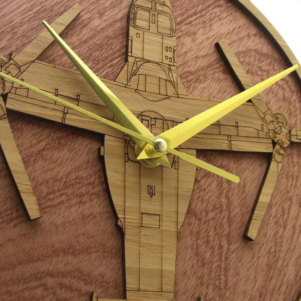 PILOTSX Wall Clock CV-22 Osprey Air Force Wooden Wall Clock