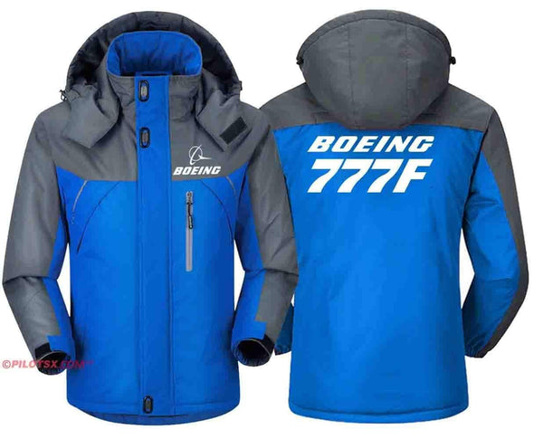 PILOTSX Windbreaker Jackets Red Gray / S Boeing 777F Jacket