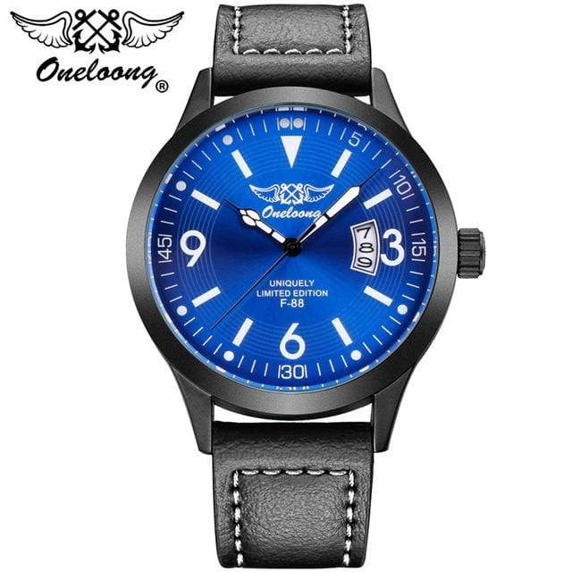 PilotX Blue F-88 Air Fighter Pilot Watch