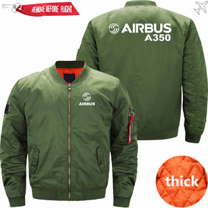 PilotX Jacket Army green thick / S Airbus A350 Jacket -US Size