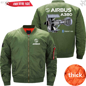 PilotX Jacket Army green thick / S Airbus A380 TRENT 900 Jacket -US Size