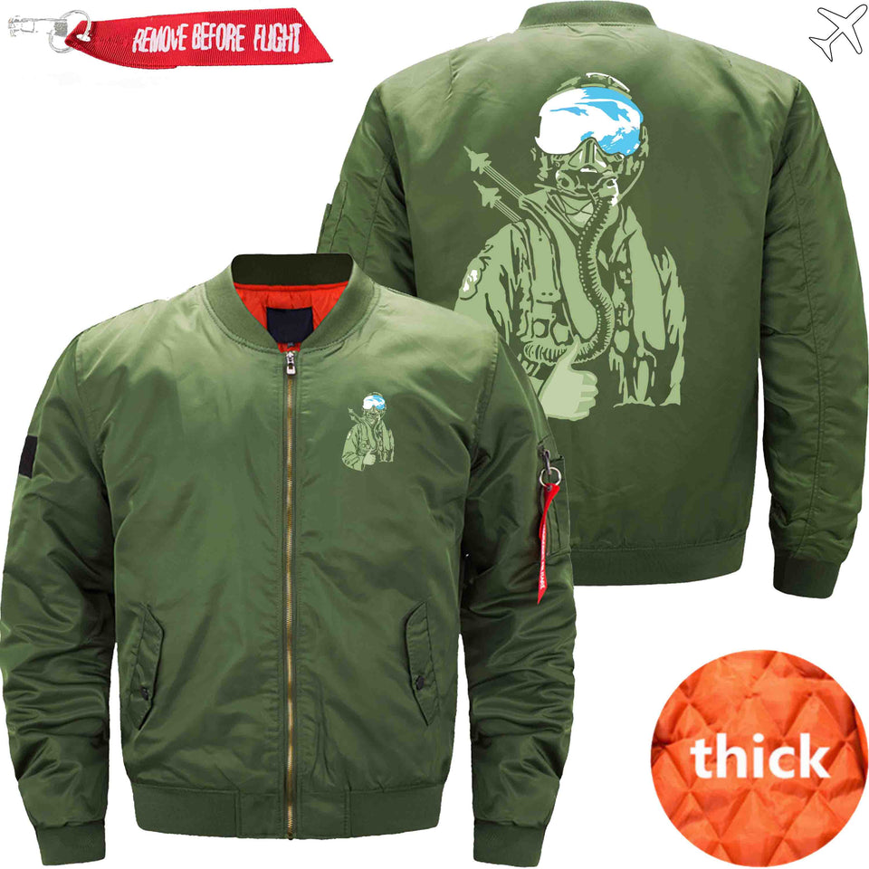 PilotX Jacket Army green thick / S Ames Bros F 15 Jacket -US Size
