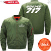 PilotX Jacket Army green thick / S B 717 Jacket -US Size