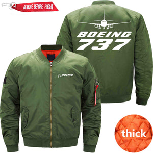 PilotX Jacket Army green thick / S B 737 Jacket -US Size