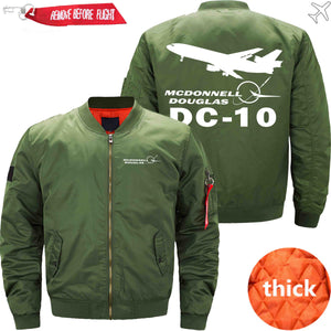 PilotX Jacket Army green thick / S McDonnell Douglas DC-10 Jacket -US Size