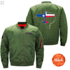 PilotX Jacket Army green thick / S Texas Aviation Jacket -US Size