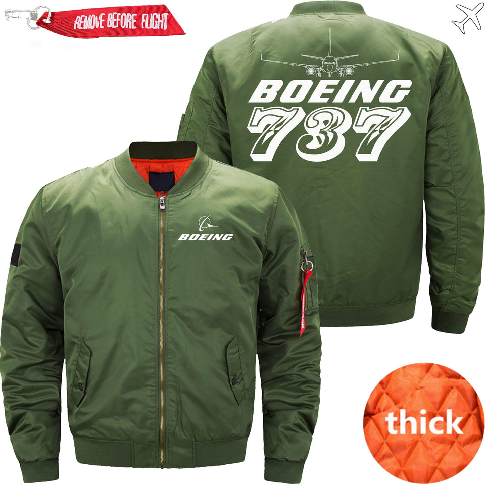 PilotX Jacket Army green thick / S The 787 Jacket -US Size