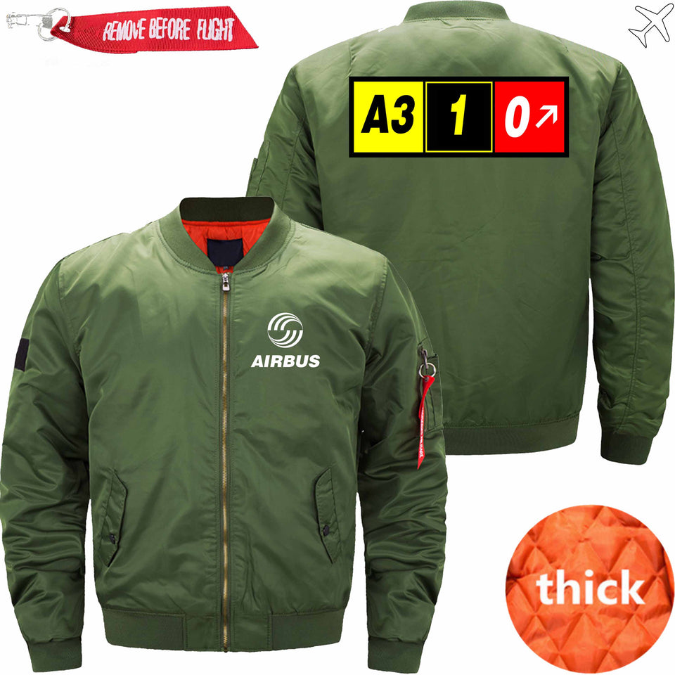 PilotX Jacket Army green thick / XS AIRBUS A310 Jacket -US Size